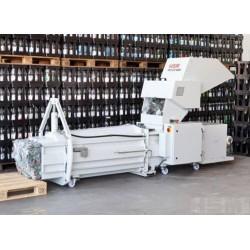 Compactadora Combinación Crusher + Prensa HSM PET CP4988