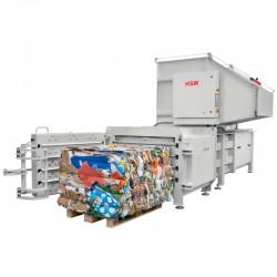 Prensa Compactadora Horizontal HL 4812 22/15 kW