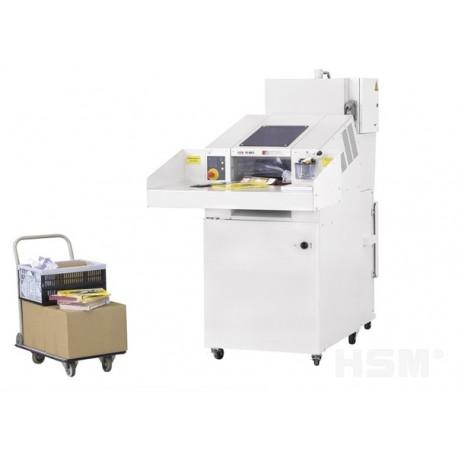 Combinación de destructora + prensa HSM SP4040V - 5,8 mm